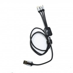CABLE USB 1M LOGO LUNINEUX N